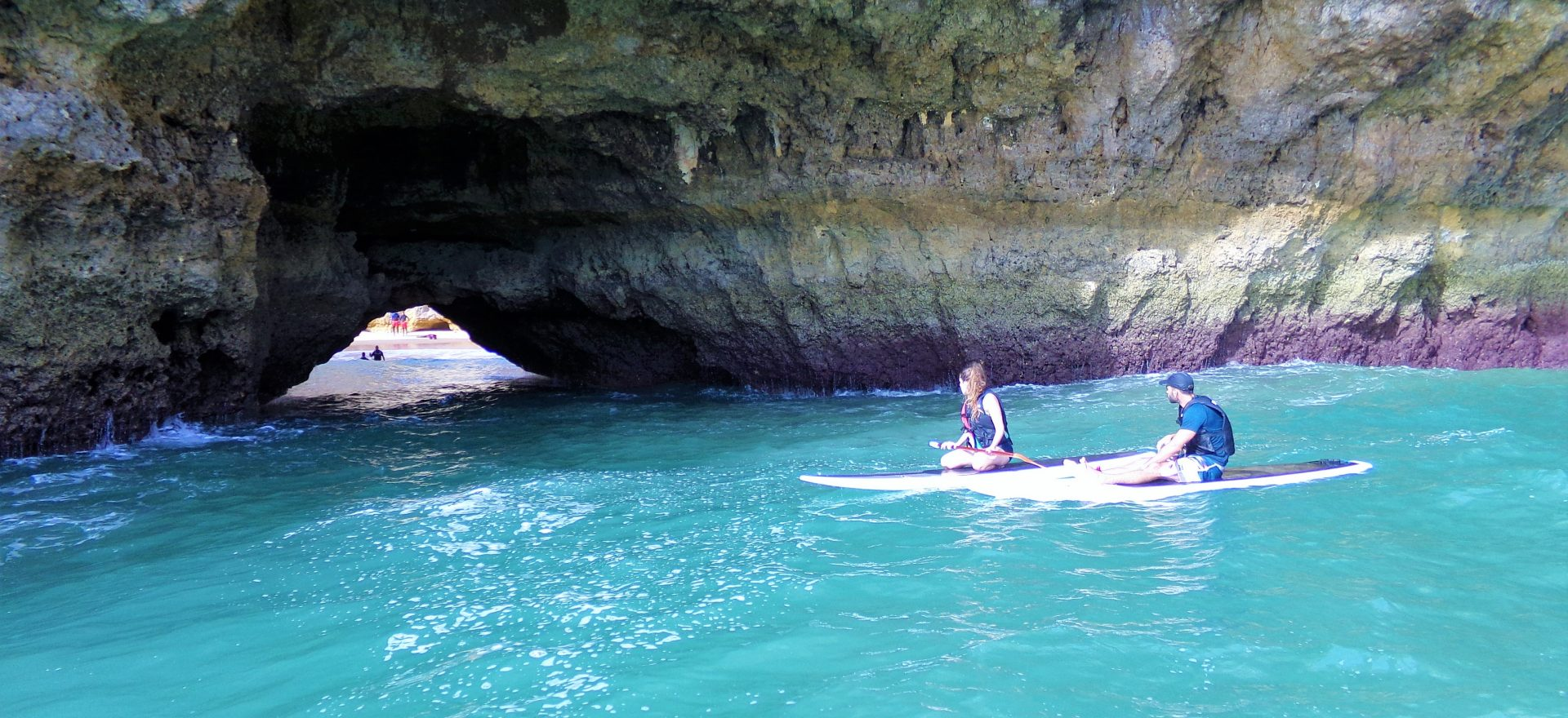 algarve standup paddle caves albufeira