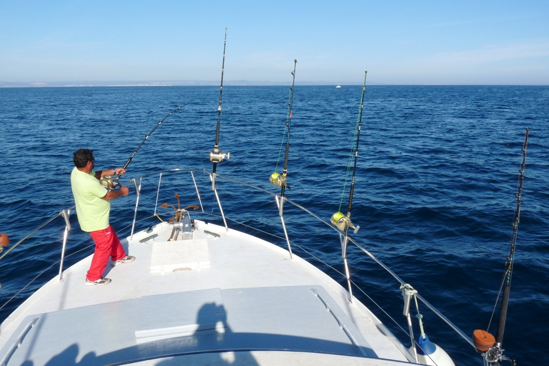 deep sea fishing albufeira