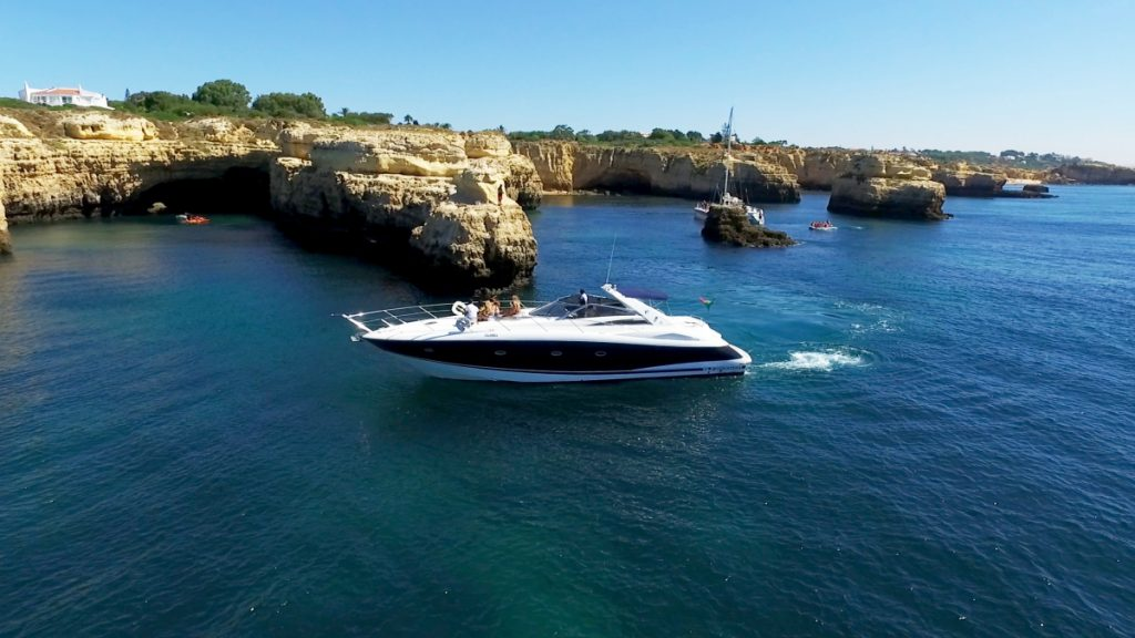Albufeira Luxury Private Charter Half Day