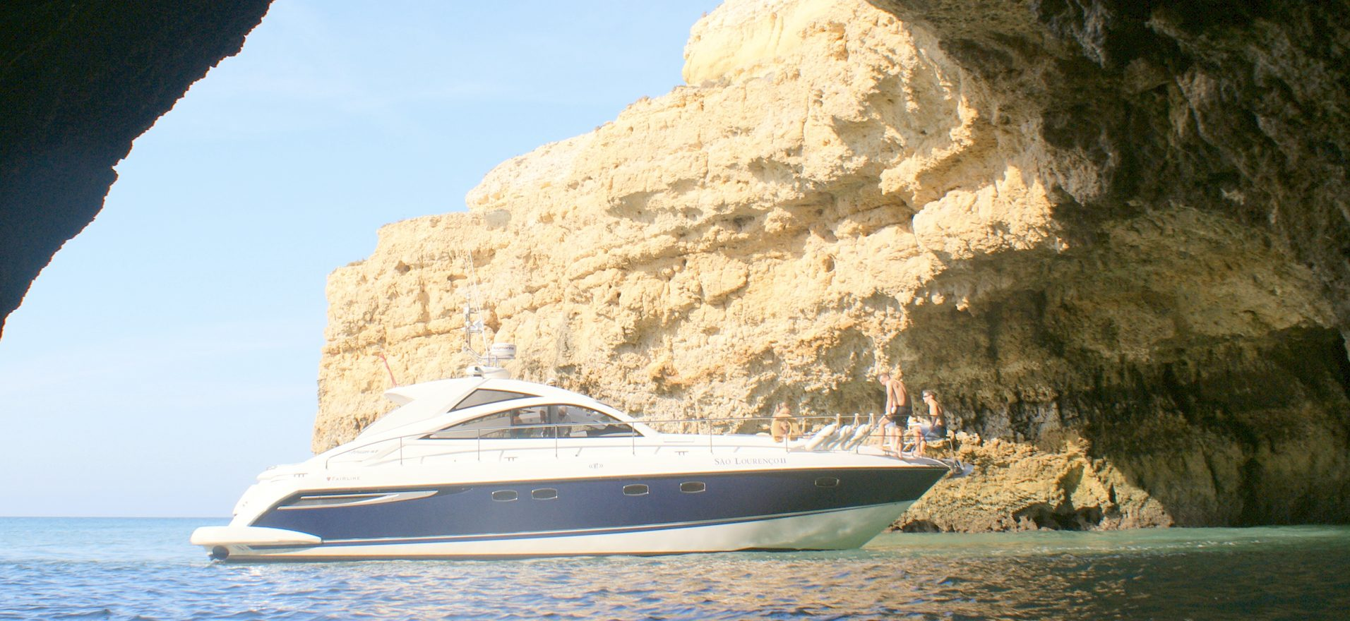albufeira luxury yacht hire Fairline targa 47