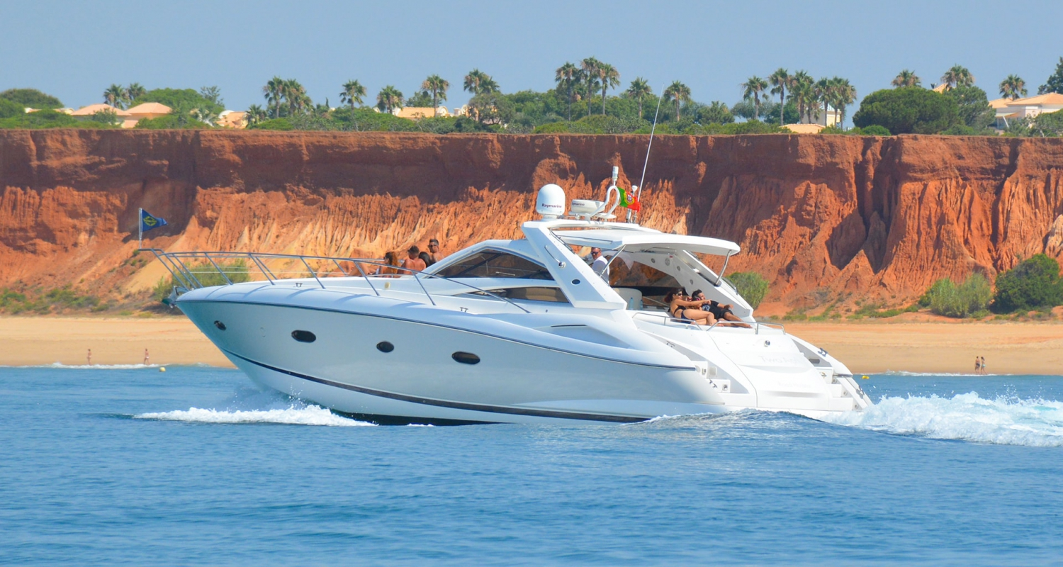 Albufeira luxury sunseeker 47 luxury charter