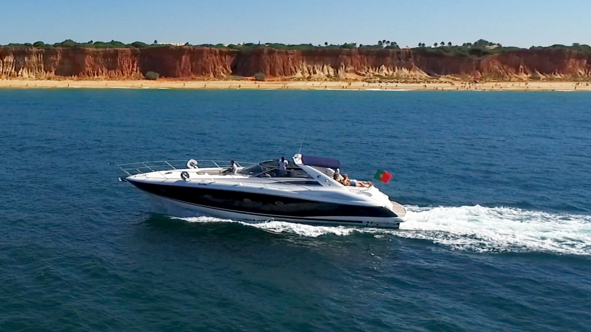 Albufeira Sunseeker 53 private luxury charter