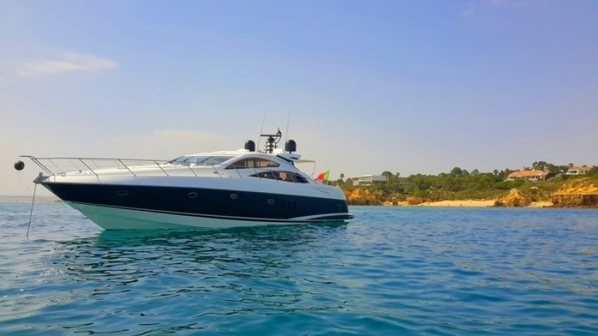 Albufeira luxury charter sunseeker 72 feet